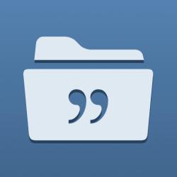 quotes folder iphone app featured