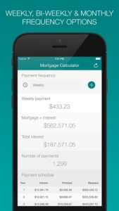 payments - mortgage calculator ss3