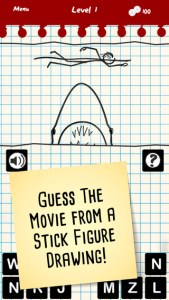 stick figure movie trivia iphone game review ss1