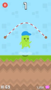 jumpy rope iphone game review ss1