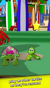turtle tumble iphone game review ss2