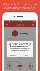 emergency phone numbers iphone app review ss3