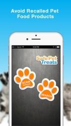 safe pet treats iphone app review ss2