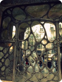 Window, La Pedrera, Barcelona