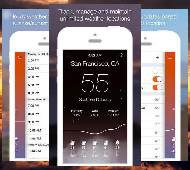Aero weather app