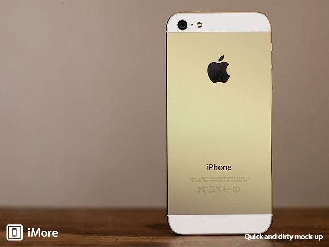 golden iPhone 5S