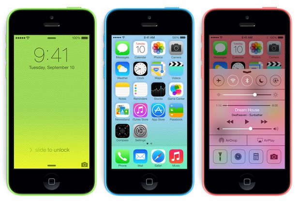 iphone 5c iOS7