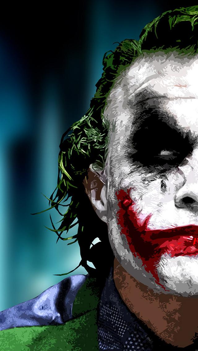 Joker Wallpaper Colorful Iphone