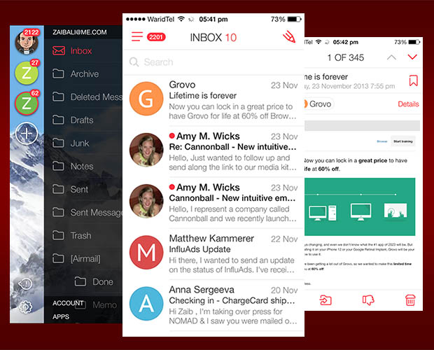 myMail-iPhone