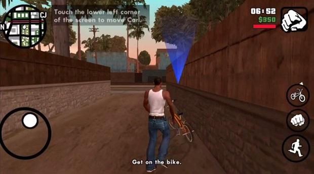 GTA San Andreas gameplay