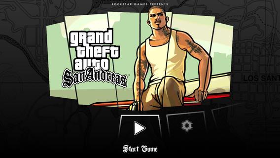 GTA San Andreas iPhone