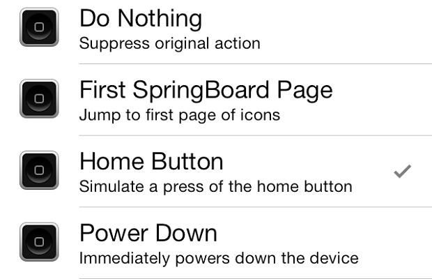 Home Button Virtual Button