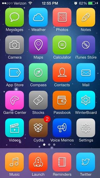 Signa iOS 7 theme
