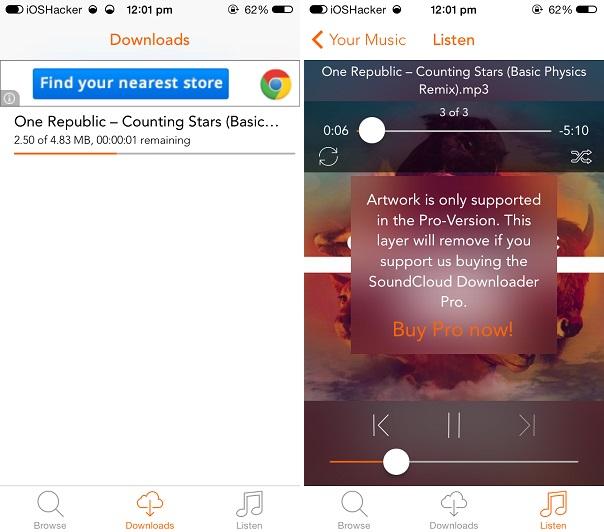 Soundcloud offline iphone free