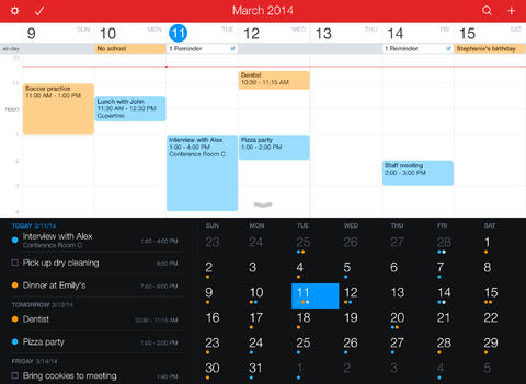 Fantastical 2 for iPad app (1)