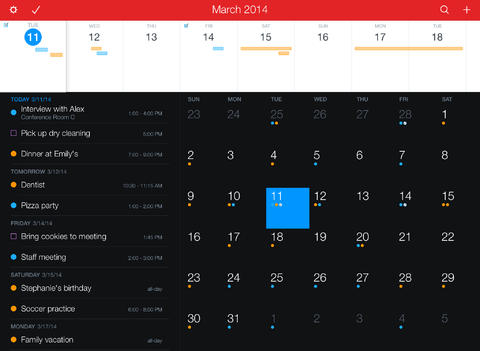 Fantastical 2 for iPad app