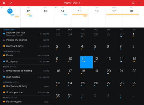 Fantastical 2 for iPad app