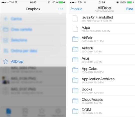AllDrop tweak