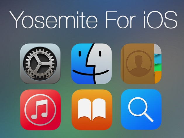 Yosemite for iOS