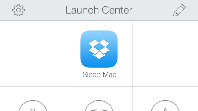 Launch Center Sleep Mac