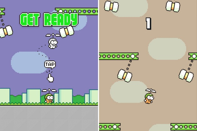 Swing Copters game 1