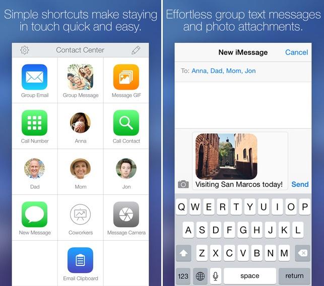 Contact Center app
