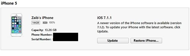 Restore iPhone (1)