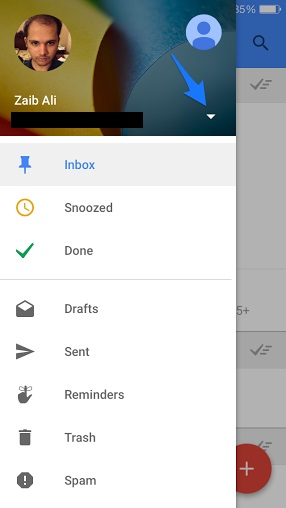 Gmail inbox invite