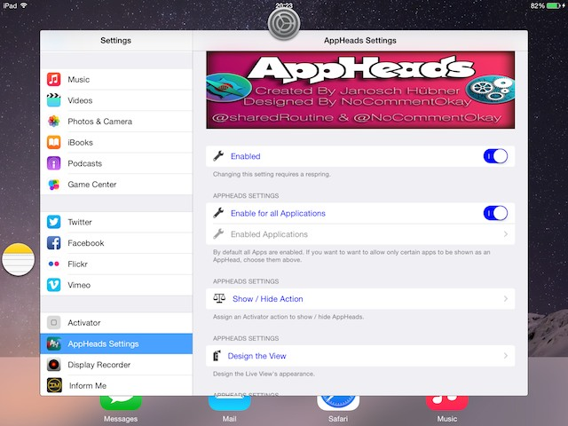 AppHeads tweak (2)