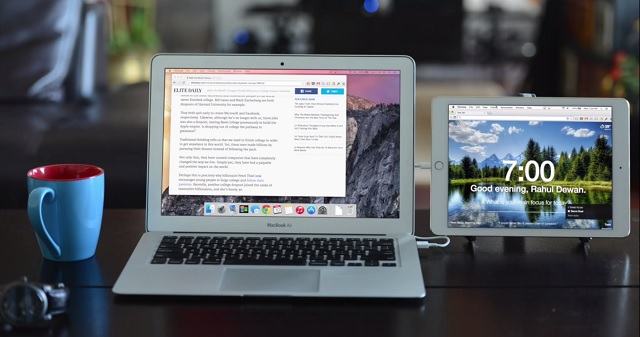 Duet Display app Mac