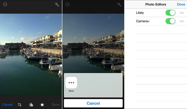 Photo editing third party iOS 8 (1)