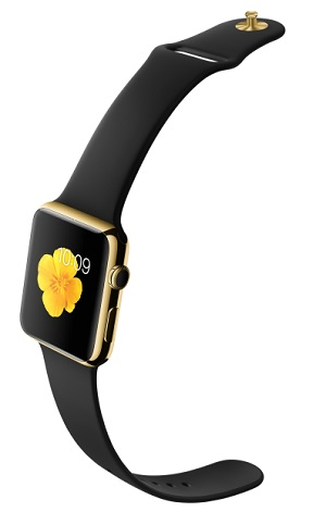 18-Karat Yellow Gold Case with Back Sport Band