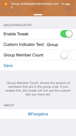 GroupIndicator tweak