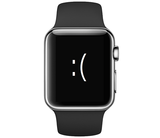 Apple Watch stuck restart
