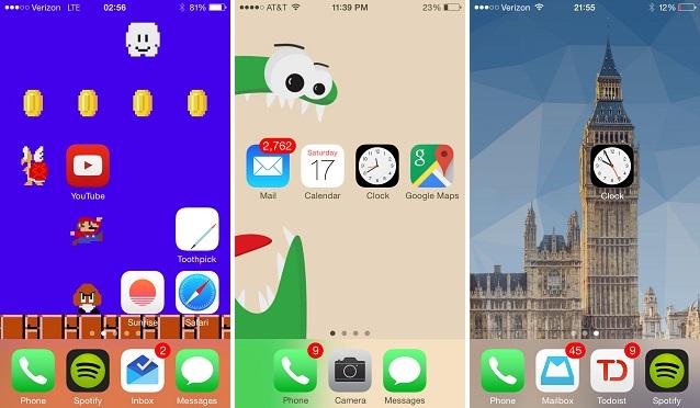 Makeovr webapp iPhone