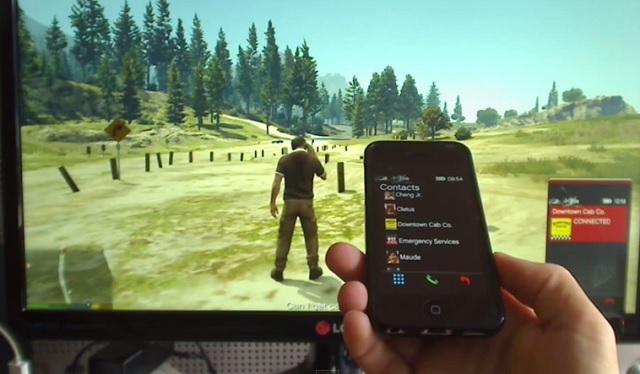 GTA V iPhone control