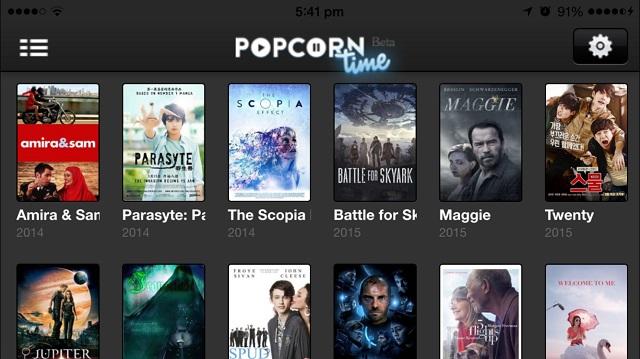 Popcorn time iOS