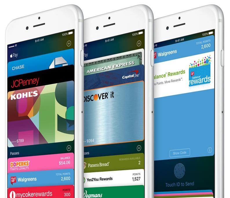 wallet app iOS9