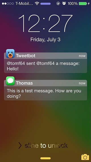 WatchNotifications tweak