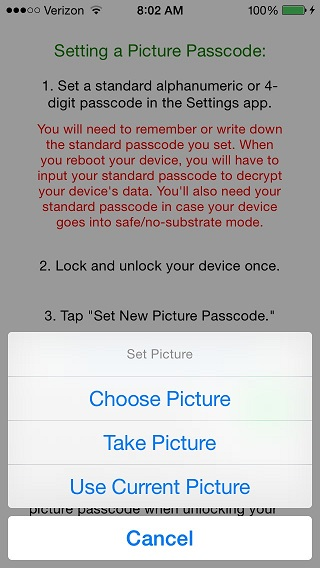 Picture Passcode tweak 2