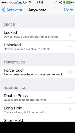 ForceTouchActivator tweak