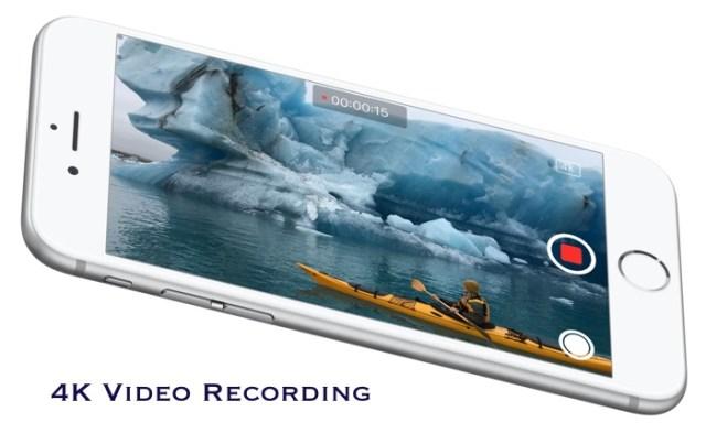 iPhone video 4K