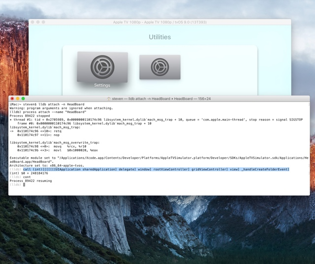 Apple TV Folders hack