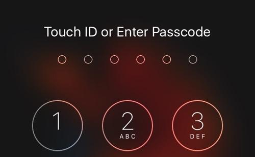 6 digit passcode ioshacker
