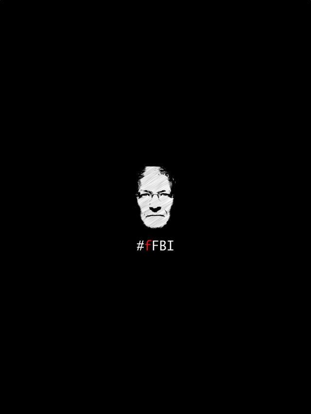 F FBI Apple iPad wallpaper 1