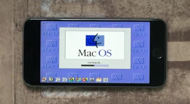 Mac OS 8 iPhone 6s