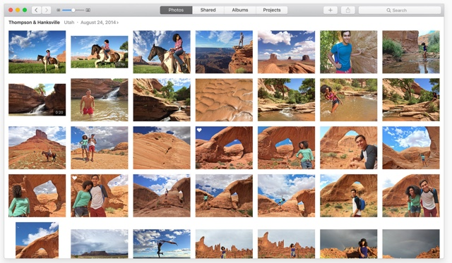 Photos app OSX