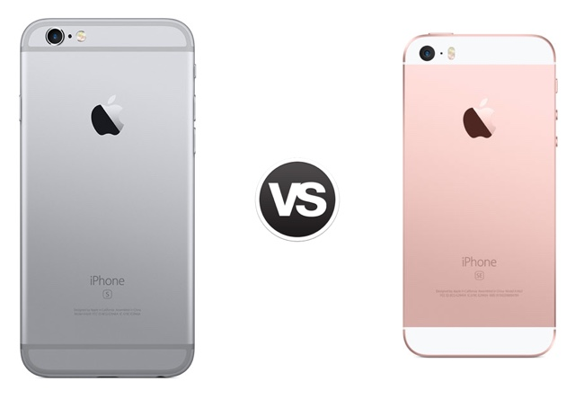iphone 6s features specs comparison iphone se vs iphone 5s and iphone se vs 11479