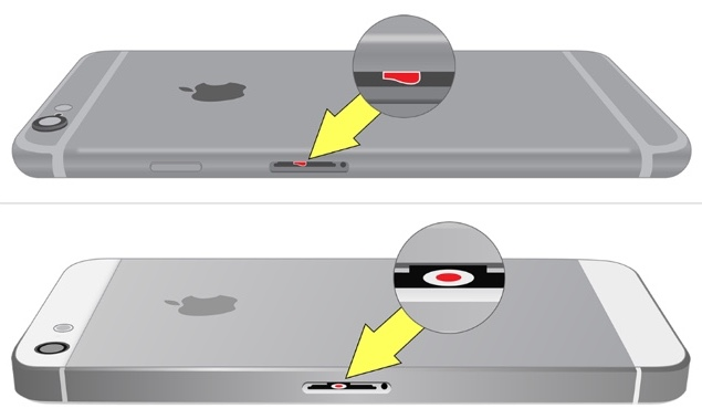 iphone 5s water damage indicator how to check if an iphone is water damaged iapptweak 3423