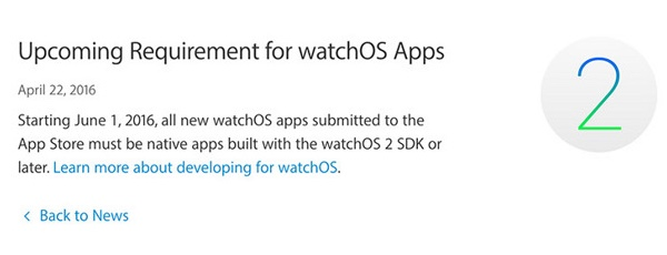 watchOS 2 native